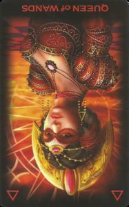 Η Βασίλισσα των Ράβδων ανεστραμμένη