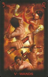 Η ερμηνεία των Ράβδων στην Ταρώ.