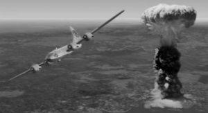 H Ρίψη της ατομικής βόμβας στη Χιροσίμα.